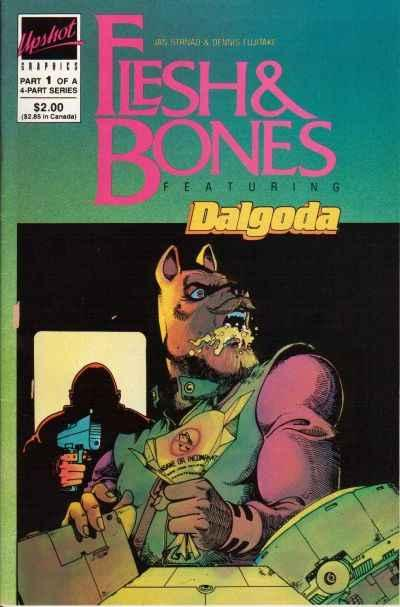 Flesh and Bones #1, VF (Stock photo)