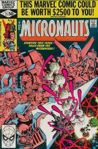 Micronauts (Vol. 1) #21 VF/NM; Marvel | save on shipping - details inside
