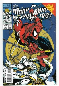 Marc Spector Moon Knight #57 NM+ 9.6 Spider-Man #300 Mcfarlane Homage by Platt