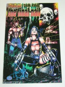 Razor/Dark Angel: The Final Nail #1 FN; signed by Hart D Fisher - Boneyard