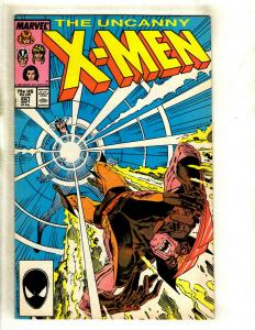 Uncanny X-Men # 221 VF/NM Marvel Comic Book Sabretooth Wolverine Cyclops HY6