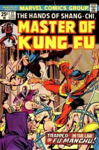 Master of Kung Fu #27 VG; Marvel | low grade comic - save on shipping - details