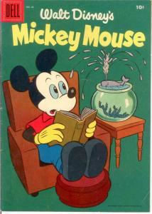 MICKEY MOUSE 45 FINE  Dec.-Jan. 1956 COMICS BOOK