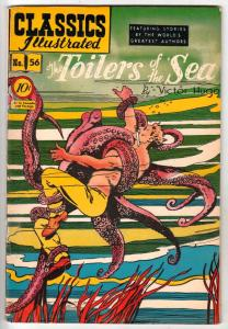 Classics Illustrated #56 (Feb-49) VG/FN Mid-Grade