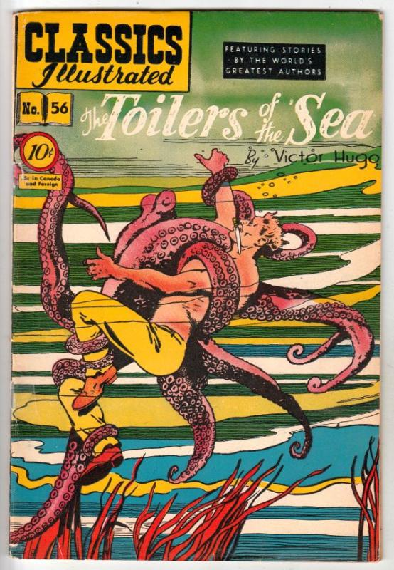 Classics Illustrated #56 (Feb-49) VG/FN Mid-Grade