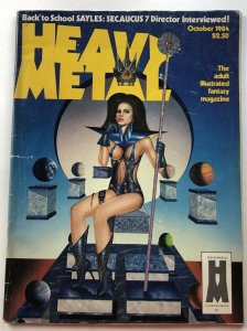 HEAVY METAL MAGAZINE // October 1984 Used! Good Condition!