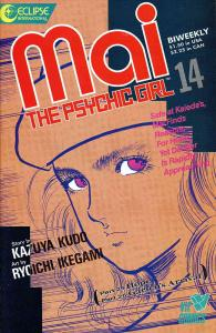 Mai, the Psychic Girl #14 FN; Eclipse | save on shipping - details inside