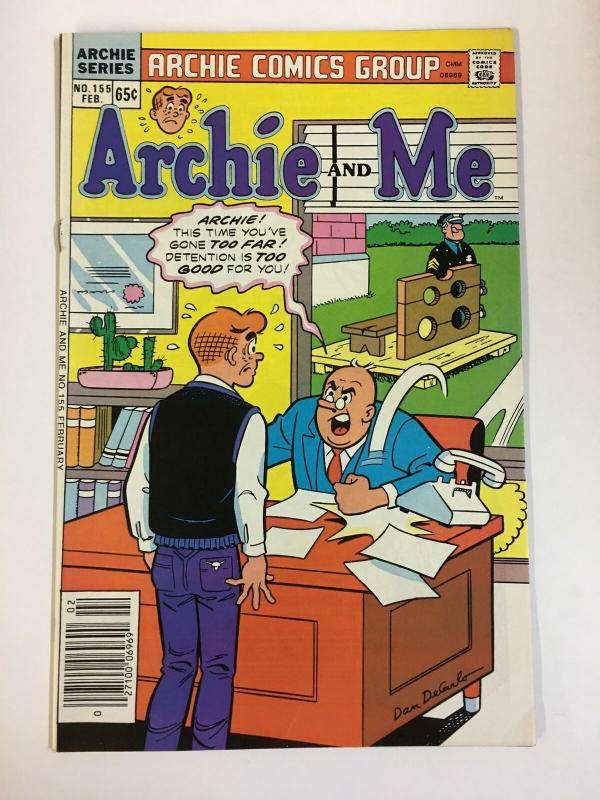 ARCHIE & ME (1964-1987)155 VF-NM  Feb 1986 COMICS BOOK