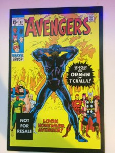 Avengers #87 Marvel Legends Reprint NM Origin of T'Challa Black Panther 2005