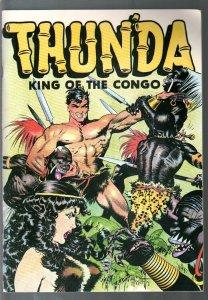 Thunda King Of The Congo1973 DC-reprints Frank Frazetta comics in B & W-VF
