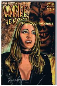 VAMPIRE VERSES #2, Frank Forte, Signed, 2001, NM, more horror in store