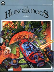 HUNGER DOGS - DC GN #4, VF/NM, 1985, TPB 1st, Jack Kirby, Darkseid kills Himon