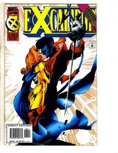 Lot Of 10 Excalibur Marvel Comic Books # 86 87 88 89 90 91 92 93 94 95 X-Men DB6