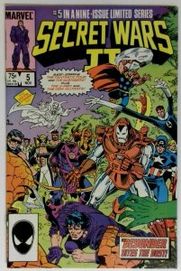 Secret Wars II #5 Marvel 1985 NM VAMPIRE Horror and Sci-Fi Comic Book