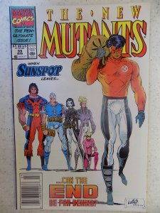NEW MUTANTS # 99 LIEFELD HOT MOVIE