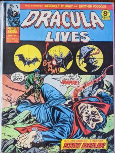 DRACULA LIVES #34 RARE!!!!