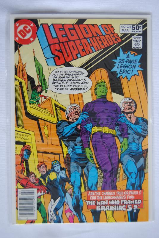 Legion of Super-Heroes 273