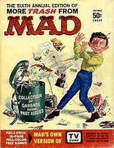 More Trash From Mad #6 VG; E.C   low grade comic - save on shipping - details in