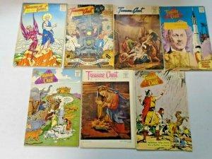 Silver Age Treasure Chest Comic Lot 21 Different 4.0 VG