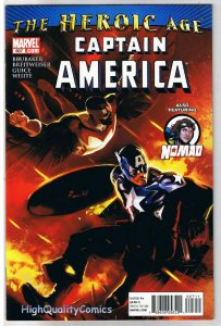 CAPTAIN AMERICA #607, VF, Ed Brubaker, Falcon, Nomad, 2010,, more CA in store