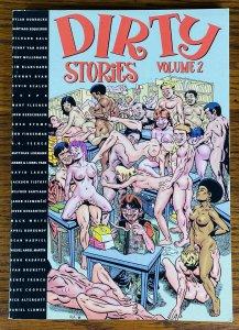 RARE DIRTY STORIES VOLUME 2 ADULT COMIC BOOK 2000 Eros Fantagraphic