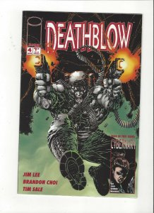 Jim Lee's Deathblow # 4 Image Comics Tim Sale Art NM