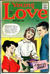 Young Love Vol.4 #6 1961-Prize-Jack Kirby-romance-teen fashions-VG