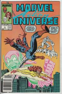 Marvel Action Universe #1 (Jan-89) NM- High-Grade Spider-Man, Ice-Man, Firestar