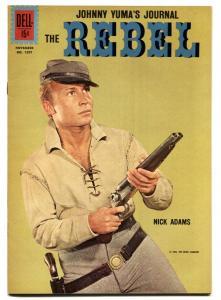 The Rebel-Johnny Yuma-Four Color Comics #1207 1961-Dell-Nick Adams cover-VF+