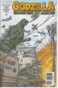 Godzilla: Gangsters & Goliaths #5A VF/NM; IDW   save on shipping - details insid