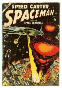 Spaceman 4   Speed Carter   Atomic Bomb explosion cover   Atlas