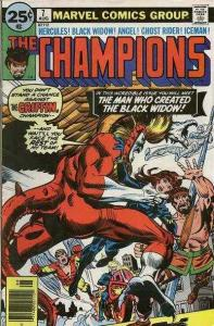 Champions (1975 series) #7, VF- (Stock photo)