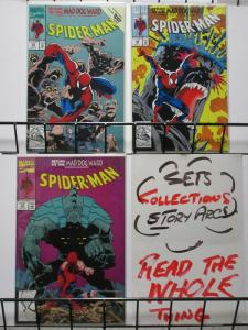 SPIDERMAN 29-31  Return To The Mad Dog Ward complete!