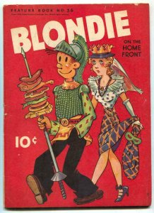 Feature Book #36 1943-Blondie on the Home Front VG+