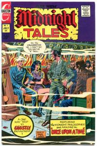 MIDNIGHT TALES #4, VF+, Wizard, Horror, 1972 1973, more Charlton in store