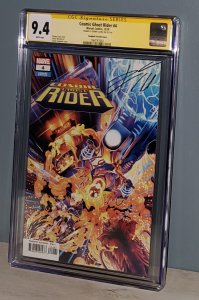 Cosmic Ghost Rider #4 CGC 9.4 Signed by Donny Cates