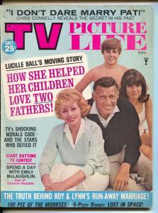 TV Picture Life-Lucille Ball-Monkees-Mrs Bill Cosby-Nov-1966
