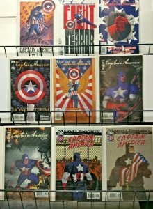 CAPTAIN AMERICA Lot of 42 Comics F/VF 2002-14 - Inc: Chosen, Reborn & Fallen Son