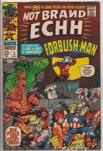 Not Brand Echh #5 (Dec-67) VF- High-Grade Thor, Hulk, Captain America