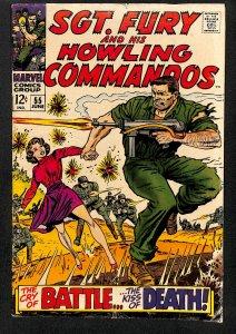 Sgt. Fury #55 (1968)