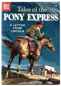 Tales of the Pony Express - Four Color comics #829 1957- G/VG