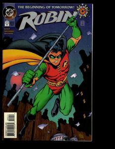 Lot Of 12 Robin DC Comics # 0 1 2 3 4 5 6 7 8 9 10 11 Batman Knightquest SM4