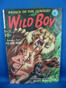 WILD BOY 12 VG F 1951