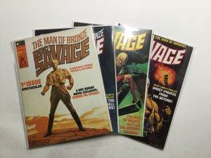Doc Savage The Man Of Bronze 1-8 Magazine Lot Curtis
