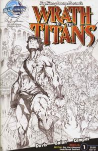 Wrath of the Titans #1 (2nd) VF/NM; Bluewater   save on shipping - details insid