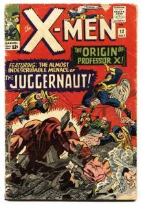 X-men #12 1965 - Marvel Comics 1st appearance JUGGERNAUT G