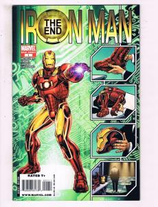 Iron Man The End #1 ONE-SHOT VF Marvel Comics Comic Book DE15