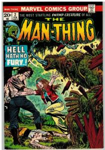 MAN THING (1974) 2 FN Feb. 1974