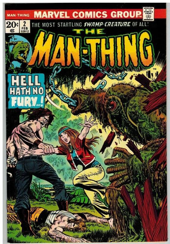 MAN THING (1974) 2 FN Feb. 1974