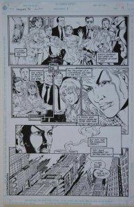 PHIL JIMENEZ / BRUCE PATTERSON original art, SHOWCASE '94 #5 pg 9,1994,Huntress